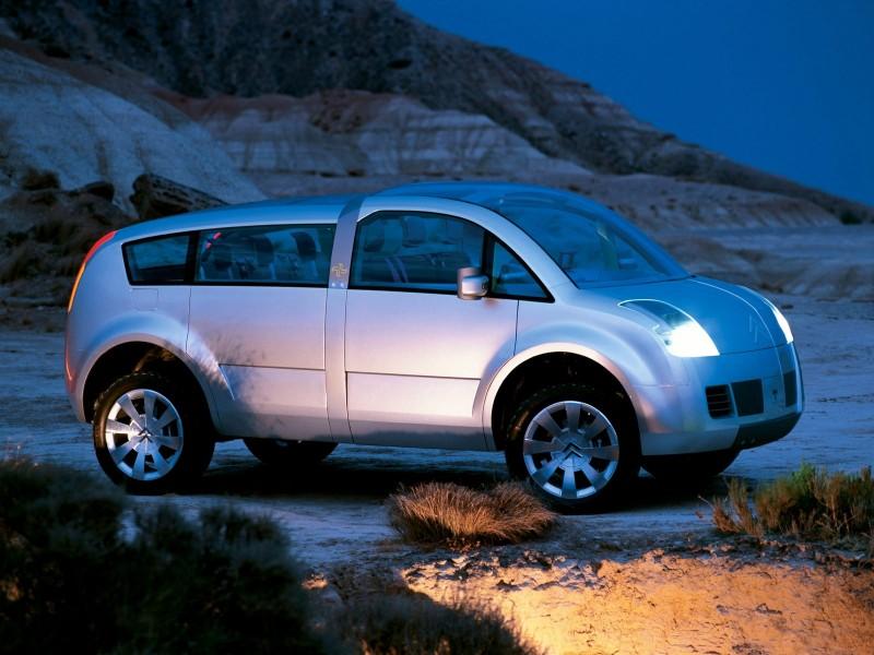 Citroen Crosser Concept (2001) .