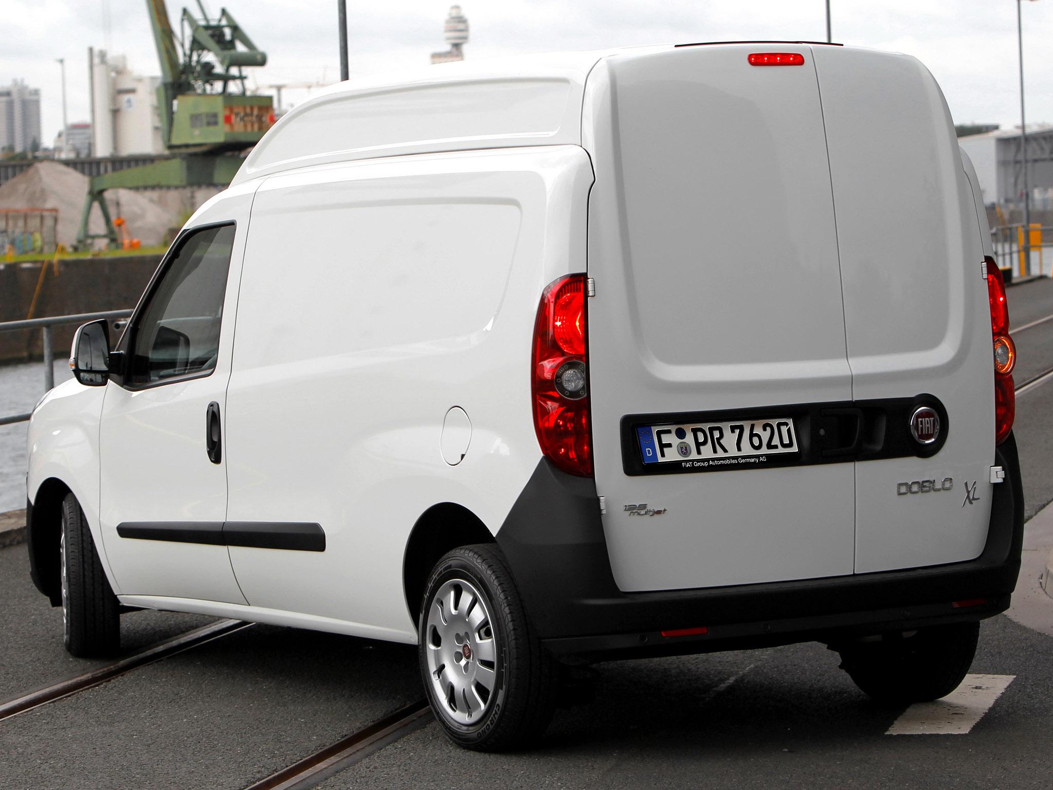 Fiat Doblo Cargo Maxi XL 2012 Fiat Dobl Cargo Maxi XL 2012 Photo 03