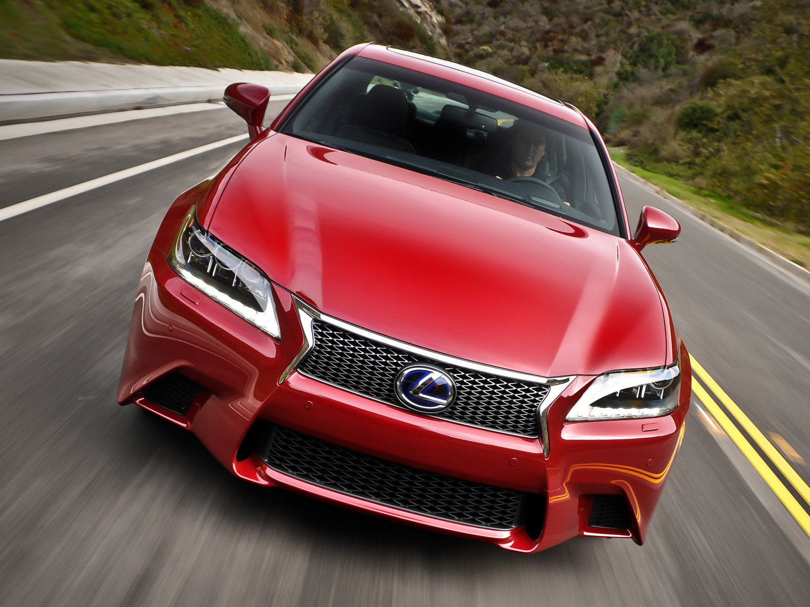 Where do you think the GS 350\'s looks rank amongst its competitors ...