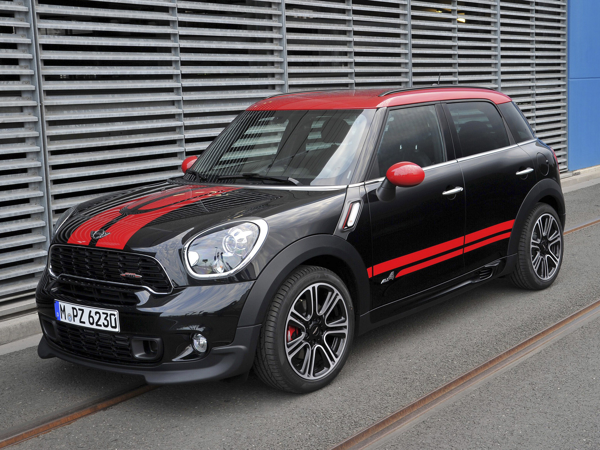 mini countryman john cooper works r60 2012 mini countryman. Black Bedroom Furniture Sets. Home Design Ideas