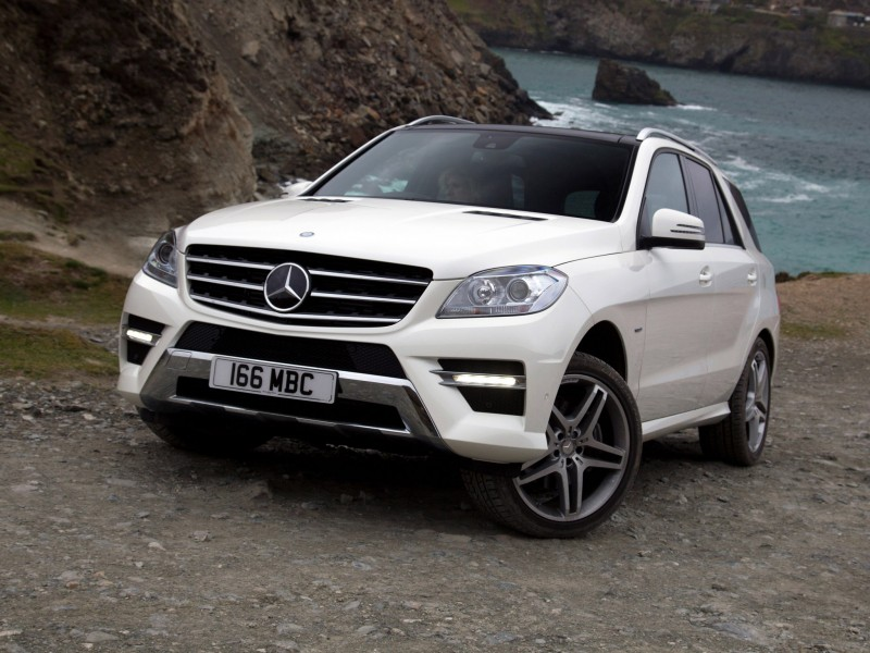 mercedes ml 350 bluetec amg sports package w166 uk 2012. Black Bedroom Furniture Sets. Home Design Ideas