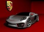 Porsche supercar design concept by emil baddal 2009 Photo 01