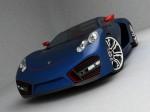 Porsche supercar design concept by emil baddal 2009 Photo 08