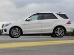 AMG mercedes ml63 w166 2012 Photo 03