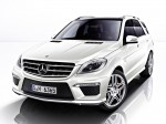 AMG mercedes ml63 w166 2012 Photo 12