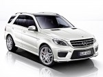 AMG mercedes ml63 w166 2012 Photo 13