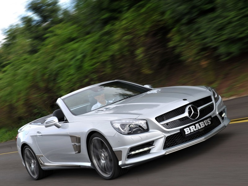Brabus mercedes sl r231 2012 Photo 05