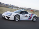 Porsche 918 Spyder Weissach Package Martini Racing 2014 Photo 01